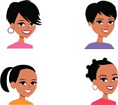 Cartoon Avatar Portait Icon (SET 7)