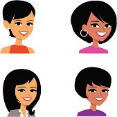 Cartoon Avatar Portait Icon (SET 6)