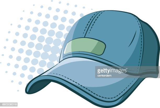 cartoon baseball cap - cap hat stock illustrations, clip art, cartoons, & icons