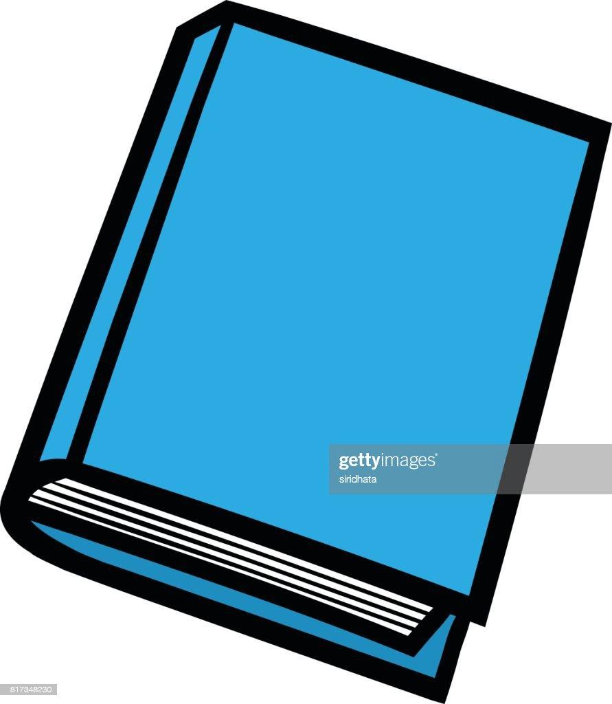 Cartoon Book Vector Illustration