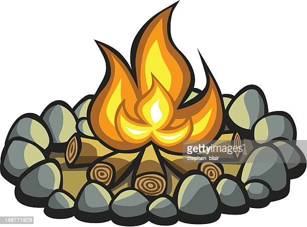 World's Best Campfire Stock Illustrations - Getty Images
