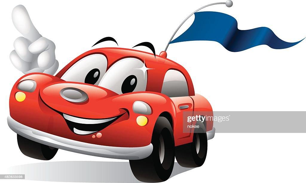 Cartoon Car - Racing