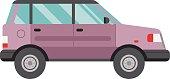 Cartoon car vector illustration.