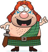 Cartoon Celtic Warrior Idea