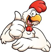 Cartoon chicken