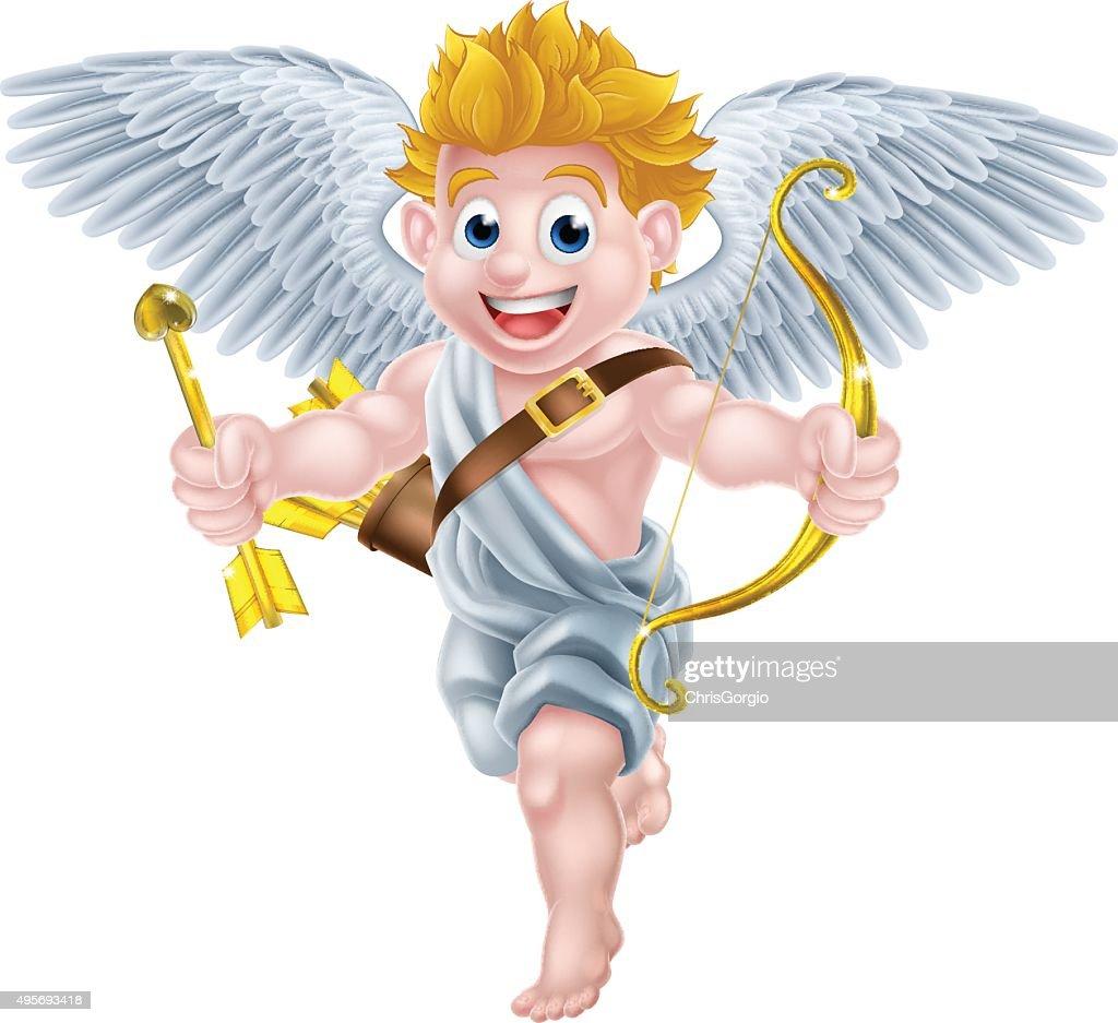 Cartoon Cupid Angel
