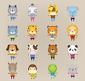 cartoon cute animal