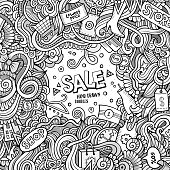 Cartoon cute doodles Sale frame