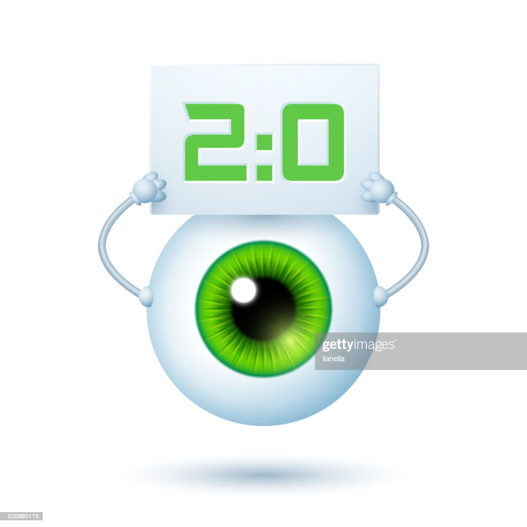 Cartoon Cyber Eye