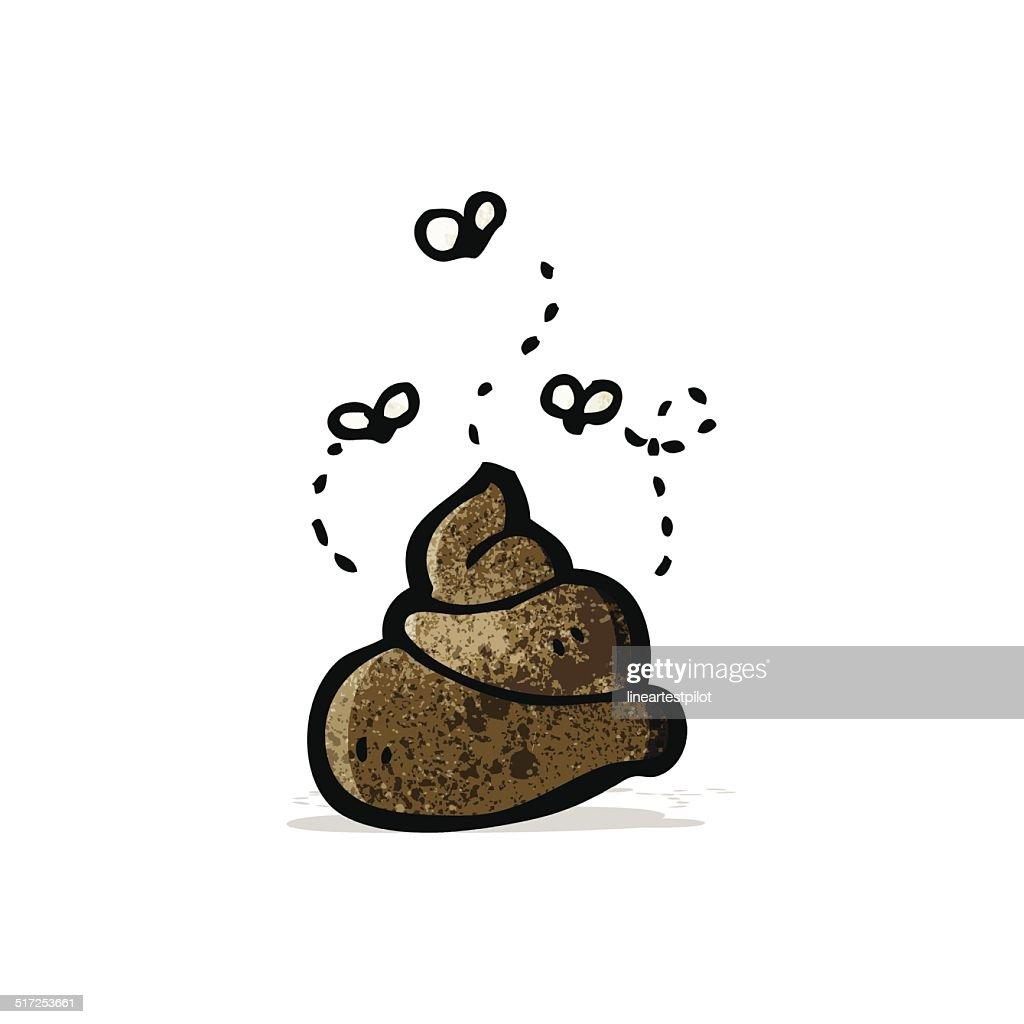 cartoon dog poop