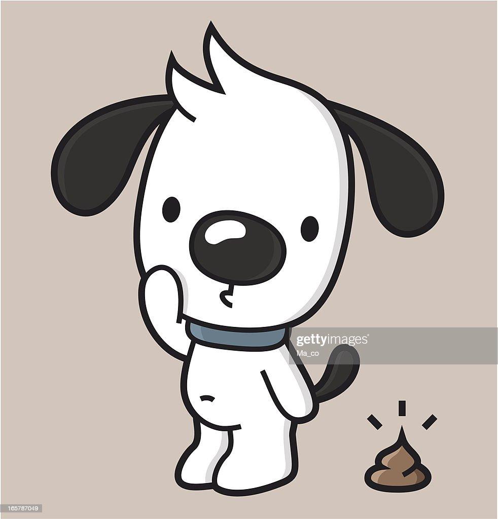cartoon / dog waste