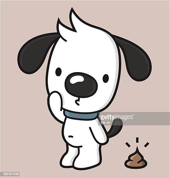 cartoon / dog waste - feces stock illustrations, clip art, cartoons, & icons