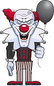 Cartoon Evil Clown