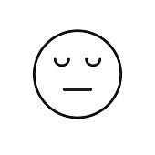 Cartoon Face Sad Negative People Emotion Icon