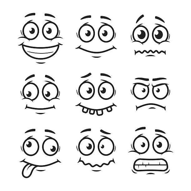 Line Drawing Of Happy Face : Adoora imagenes