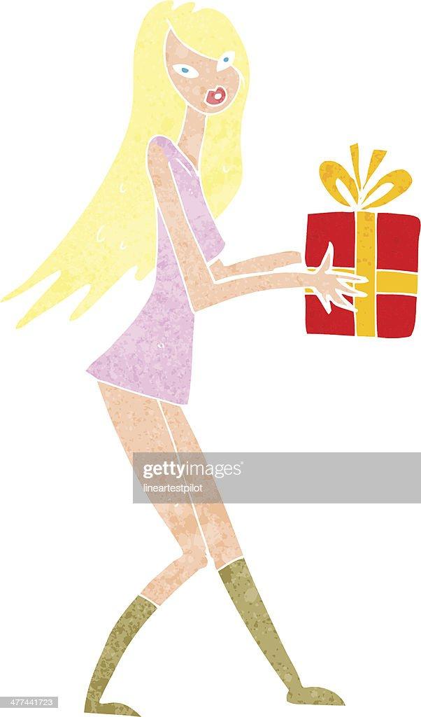 Cute Christmas Present Clipart 13, Buy Clip Art - Weihnachtsgeschenk Png -  572x720 PNG Download - PNGkit