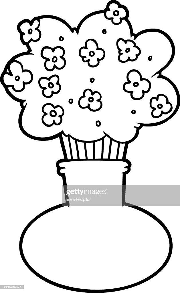 Cartoon Flowers In Vase Vector Art Getty Images