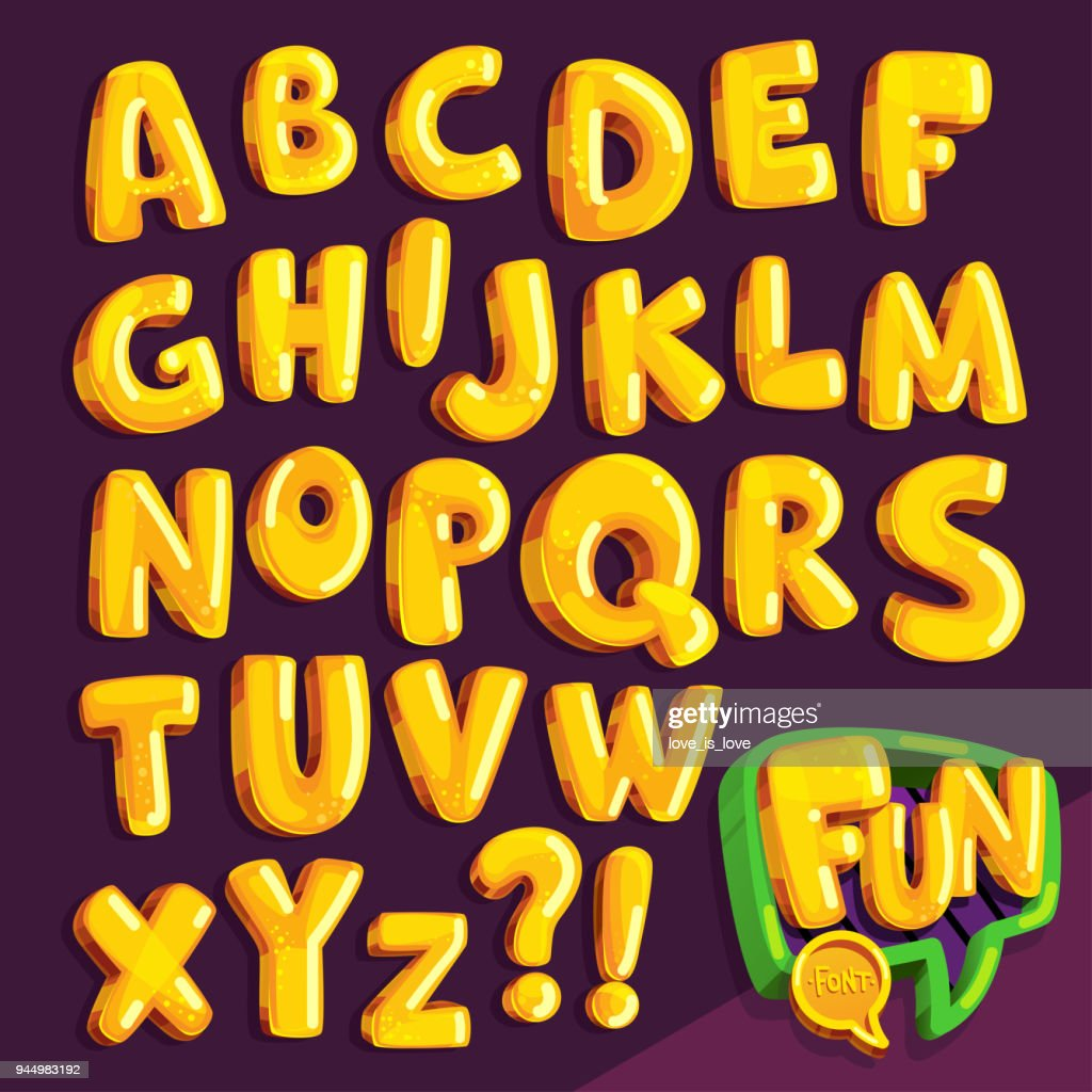 "cartoon font ""fun"""