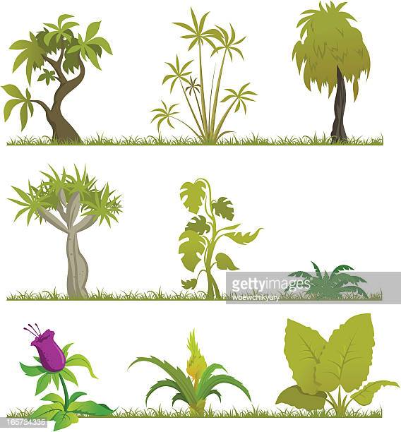 Cartoon forest (Jungle2)