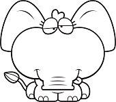 Cartoon Goofy Elephant