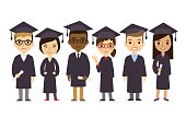 Cartoon Graduate Students