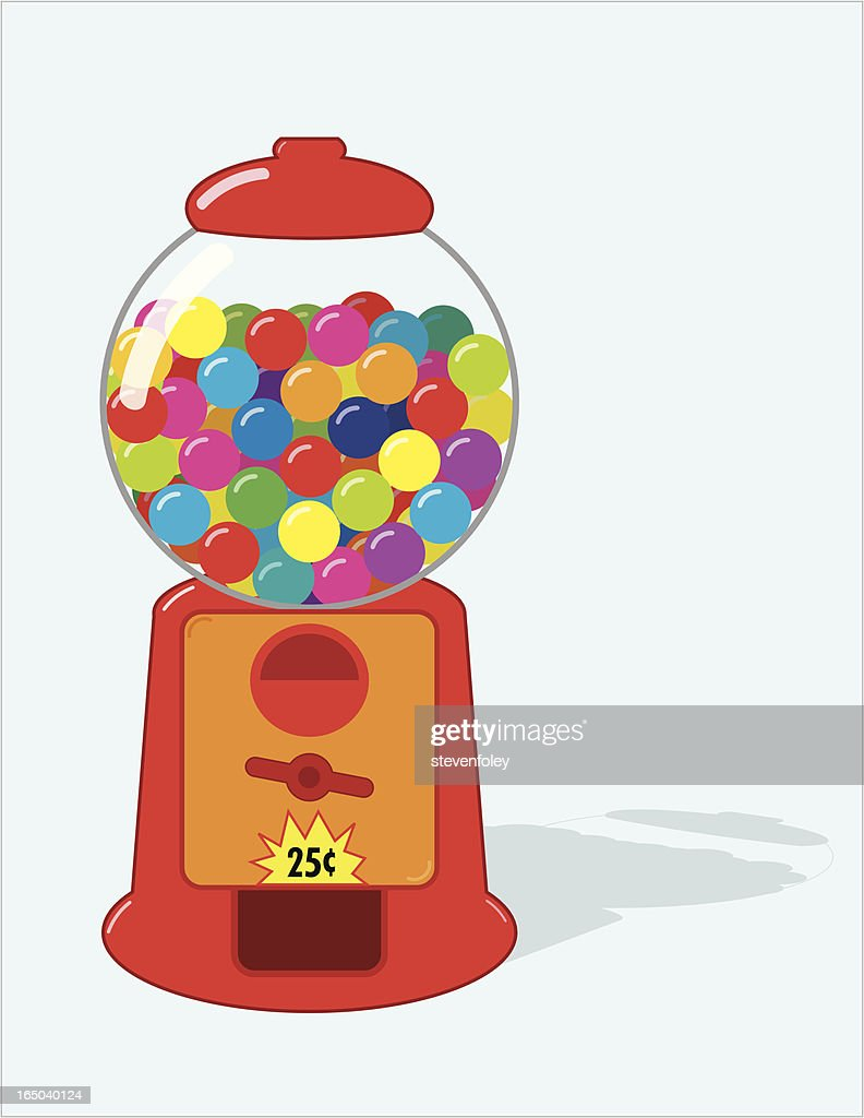 gumball machine stock illustrations and cartoons getty images rh gettyimages com Bubble Gum Clilpart bubble gum machine clipart free
