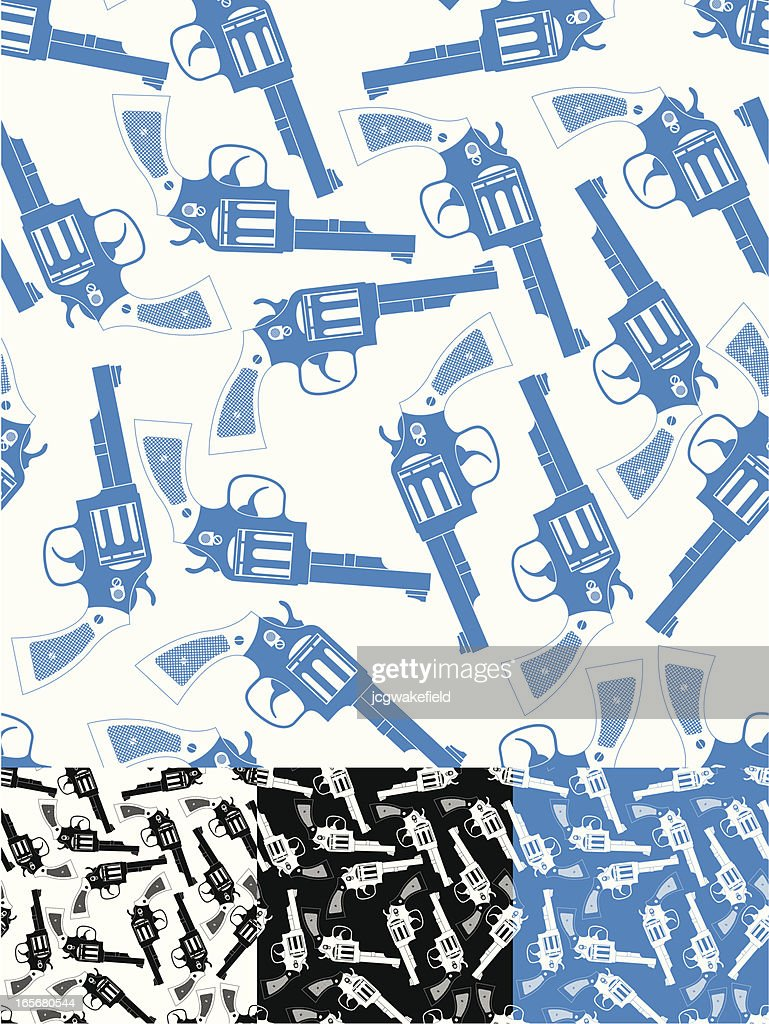 Cartoon Gun Wallpaper High Res Vector Graphic Getty Images