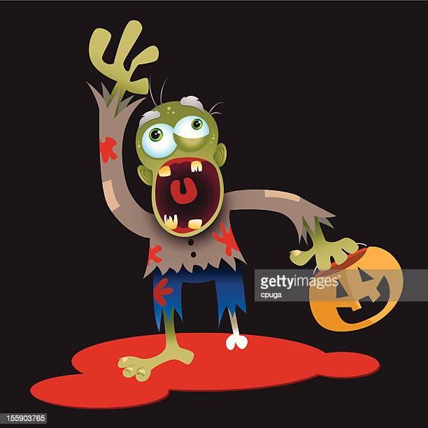 Cartoon Halloween Zombie