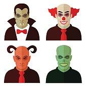 cartoon horror characters,