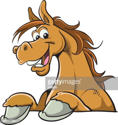 Cartoon Horse High-Res Vector Graphic - Getty Images