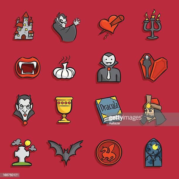 Cartoon Icons - Vampire