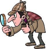 Cartoon inspector.