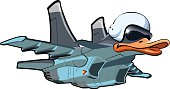 Cartoon Jetbird 1