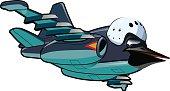 Cartoon Jetbird 2