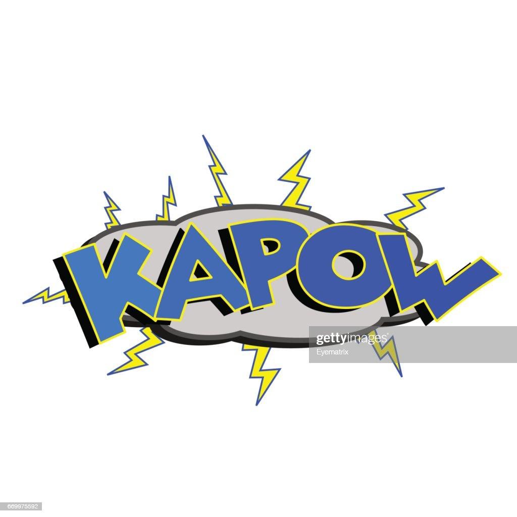 Cartoon Kapow Sound
