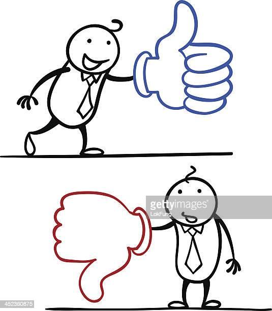 illustrations, cliparts, dessins animés et icônes de homme en dessin animé, et n'aiment pas. - contrarié