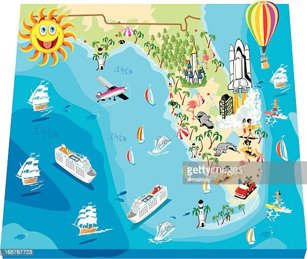 Hollywood Florida Map.Hollywood Florida Stock Illustrations And Cartoons Getty Images