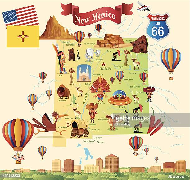 Albuquerque New Mexico Stock Illustrations And Cartoons | Getty Images