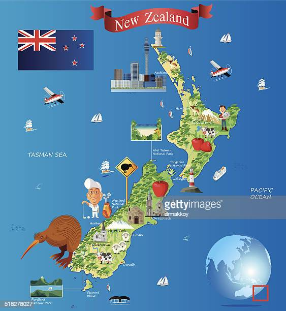 60 Top Auckland New Zealand Stock Illustrations, Clip art, Cartoons ...