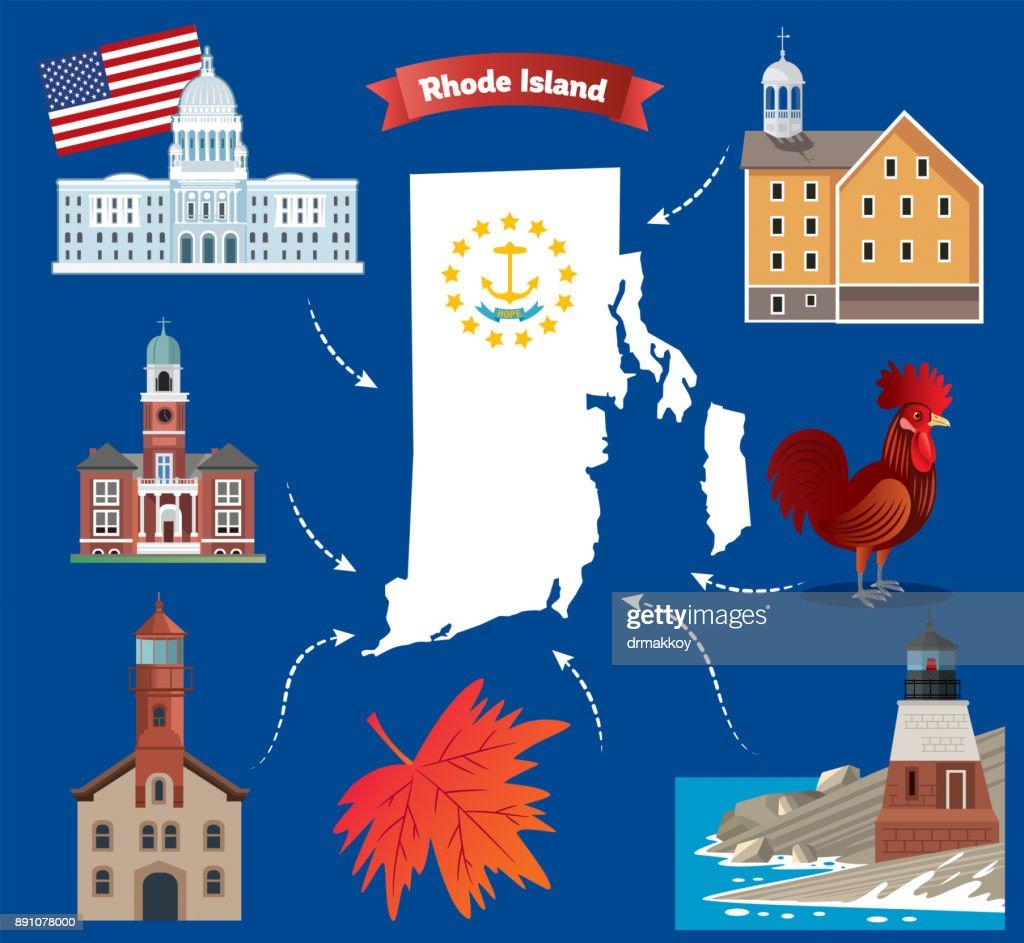 Cartoon map of rhode island state vector art getty images cartoon map of rhode island state vector art biocorpaavc Choice Image