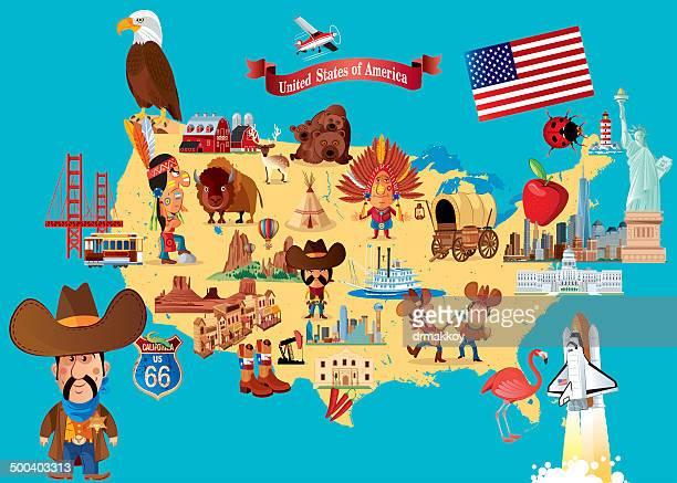 New England Map Cartoon Stock Illustrations And Cartoons Getty - Us map cartoon