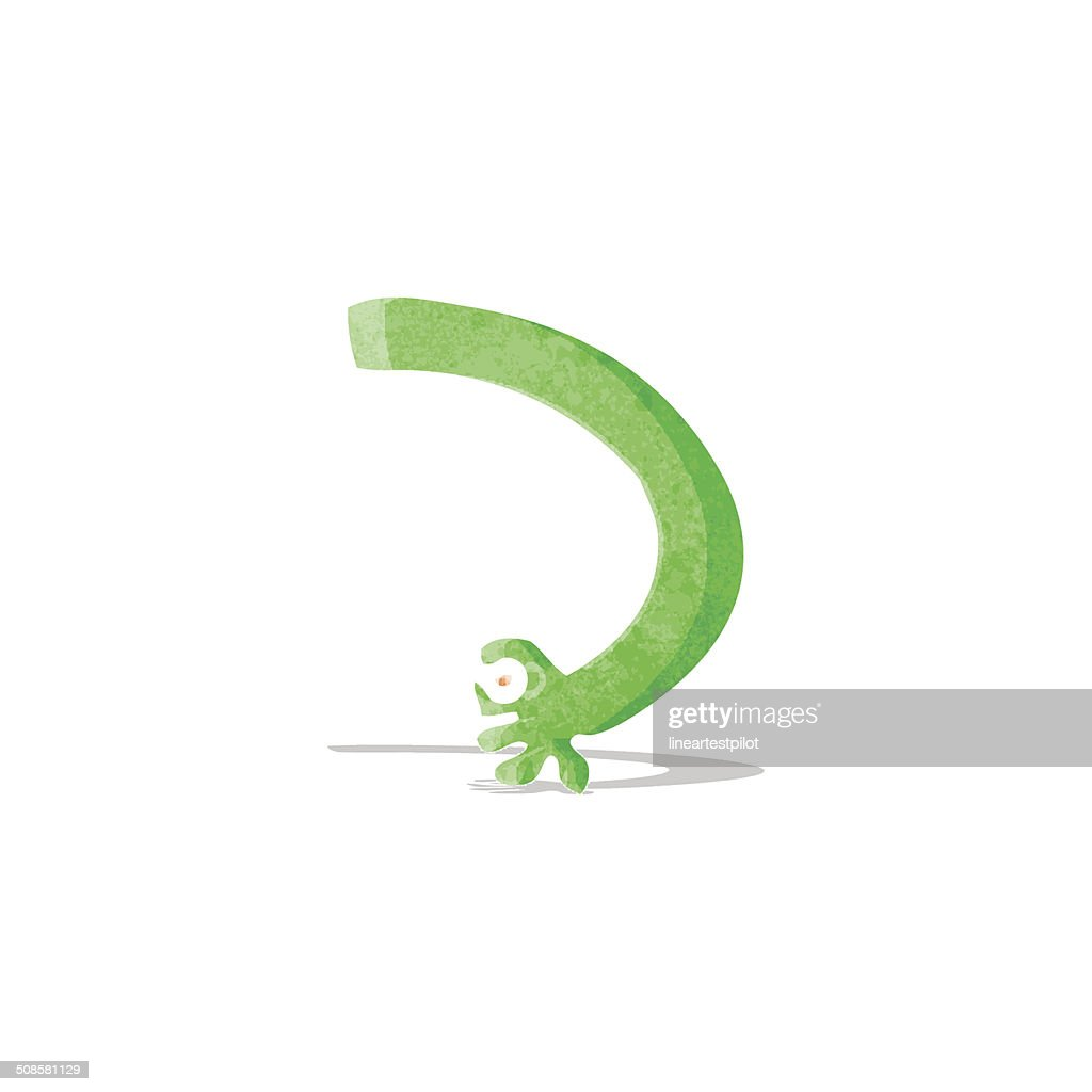 cartoon monster arm : Vector Art