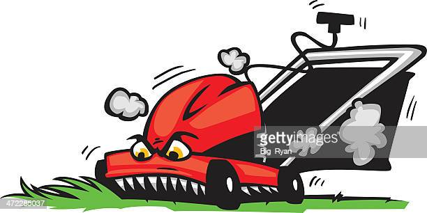 Lawn Mower Stock Illustrations And Cartoons Getty Images