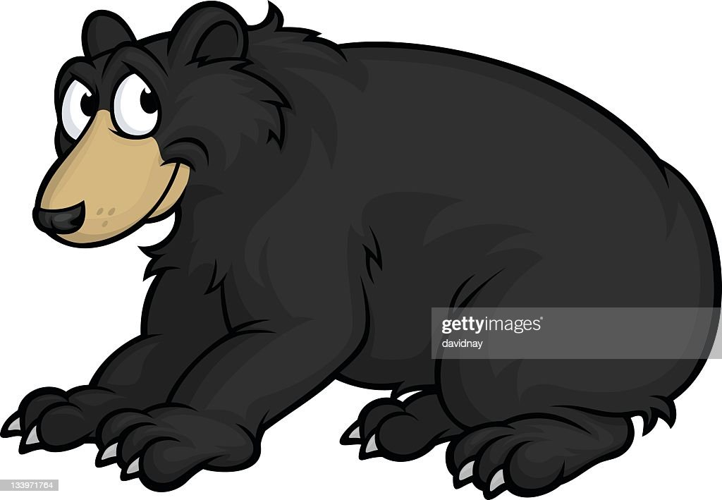 american black bear stock illustrations and cartoons getty images rh gettyimages com blackbeard cartoon cartoon bear black and white