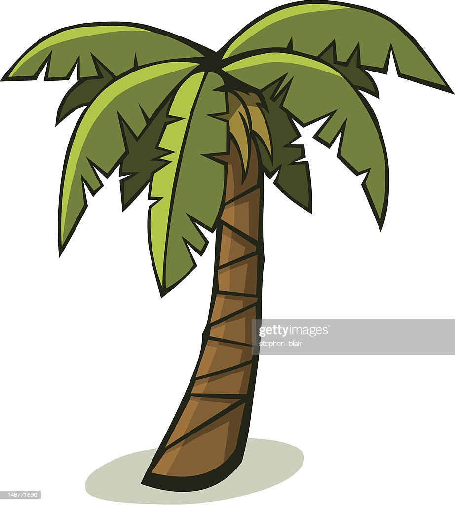 palm tree cartoon stock illustrations and cartoons getty images rh gettyimages com cartoon palm tree with coconuts cartoon palm tree leaves