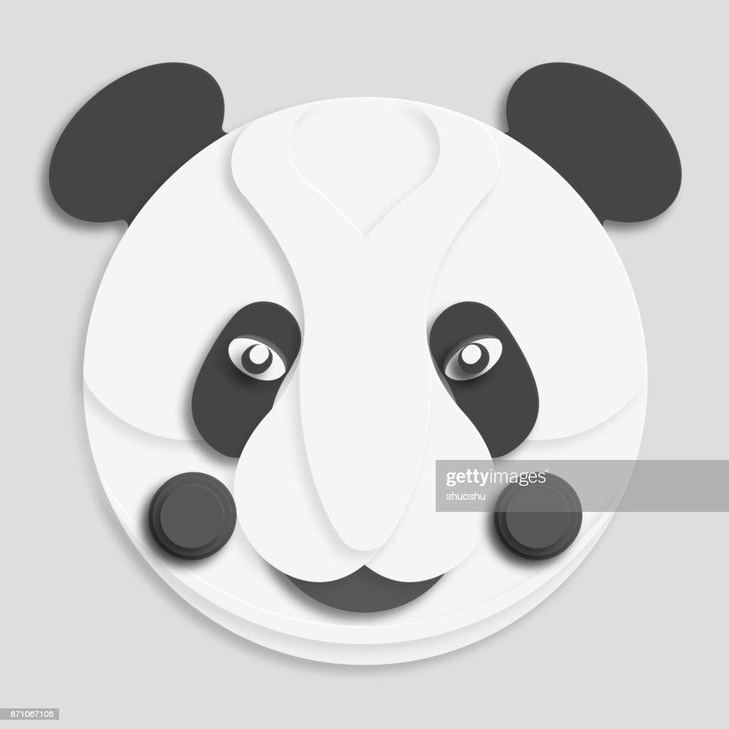 cartoon panda pattern