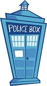 cartoon police box