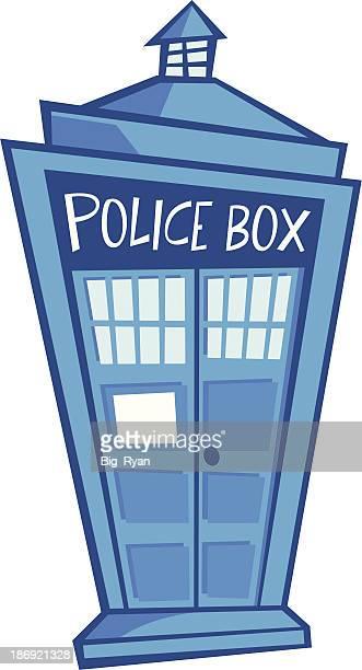 cartoon police box