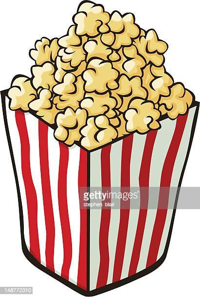 Cartoon Popcorn