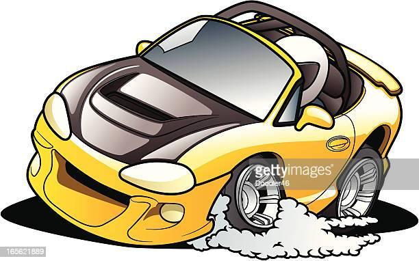 Cartoon Road Racer